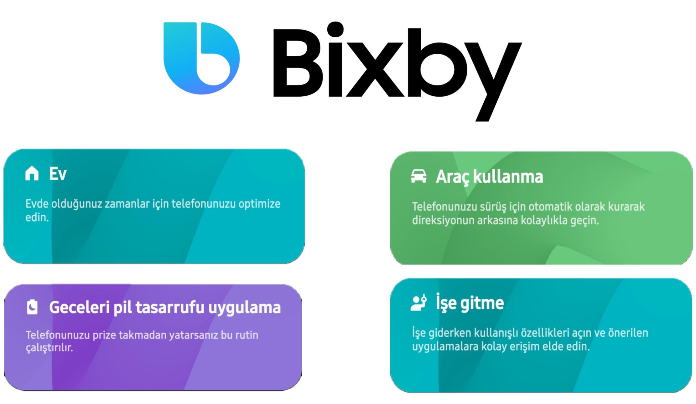 bixby rutin nasıl çalışır ?
