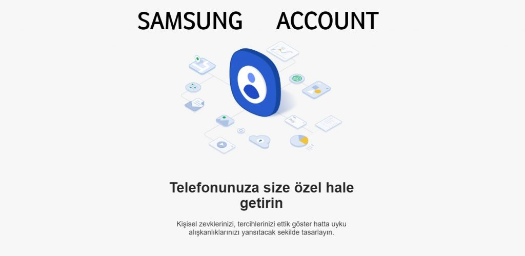 Samsung account oluşturma