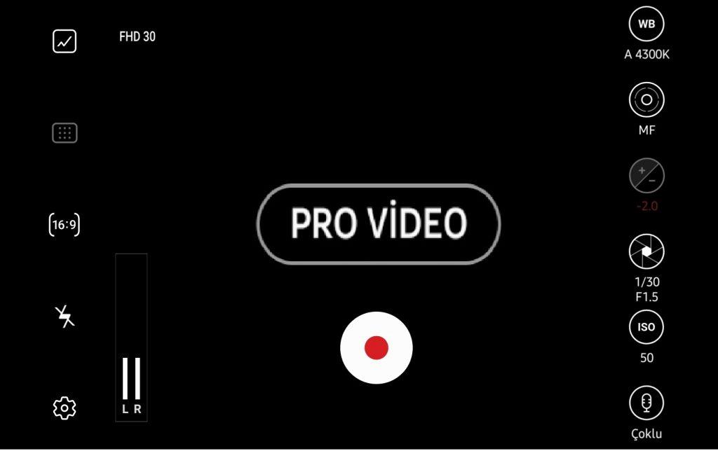 pro video modu nasıl çalışır