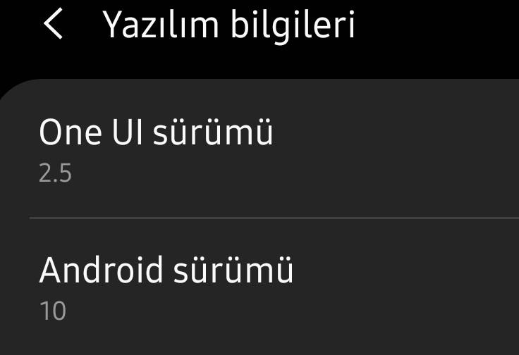 hangi android sürümü