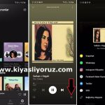 Spotify şarkılarını İnstagram'da paylaşamıyorum