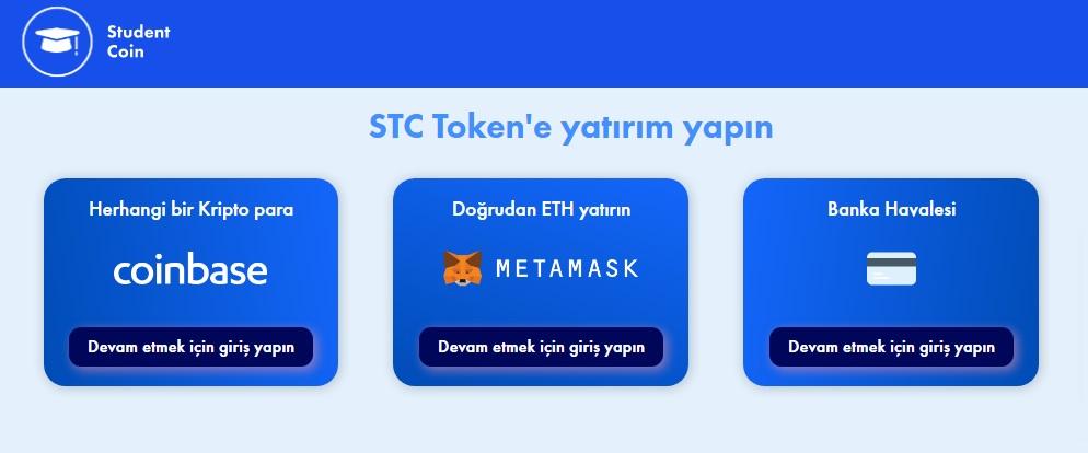 stc token nasıl alınır