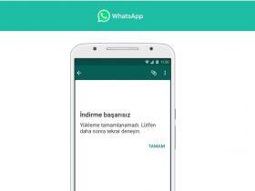 whatsapp resim indirme sorunu